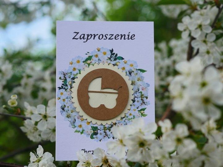 Zaproszenia dla gości z okazji chrzcin – polski sklep