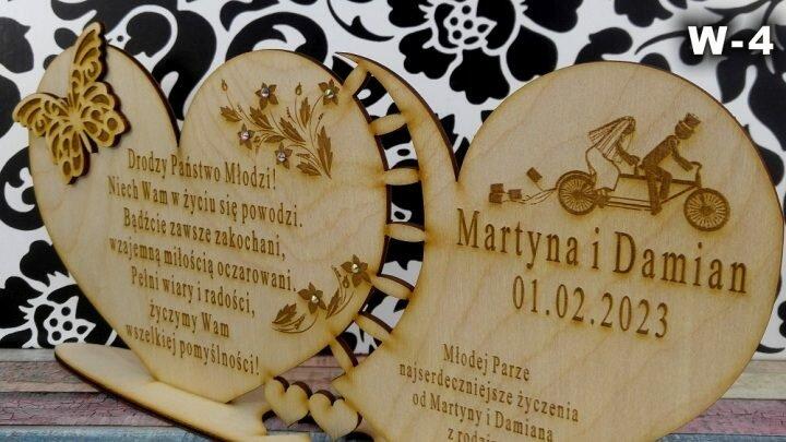 Sklep z upominkami dla gości weselnych – ciekawe wzory